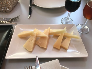 Goat and Sheep Cheese (semi-cured)