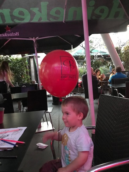 Happiness is a balloon!