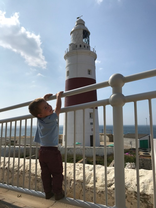 Hanging around by Europa Point Lighthouse